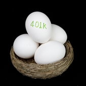 Fee only financial planner advises on 401k investing